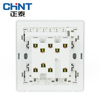 CHINT Custom Switch Plates Wall Switch Socket NEW2D Panel Three Gang Two Way 16A Steel Frame