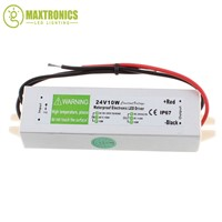 Best price wholesale 24V 10W Power Supply AC DC Switch Waterproof IP67 for DC 24V power supply