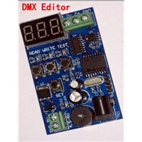 DMX editor, DMX encoder for setting dmx address and Write/Test/ Read Code of our DM series dmx decoder, DM-160 DMX512