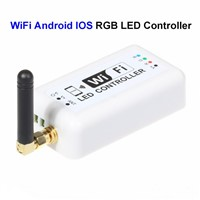 3pcs 12V Mini WiFi RGB LED Controller By Android IOS System Mobile Phone For SMD 3528 5050 RGB LED Rigid Strip