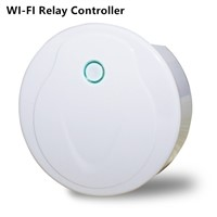 2017 WiFi-Realy Controller Mini Style UFO Master receiver WiFi signal from mobile phone RF signal from remoter DC 5-24V