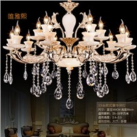 Large crystal chandelier Lighting Luxury crystal light Fashion chandelier crystal Modern Large chandeliers Living room bedroom