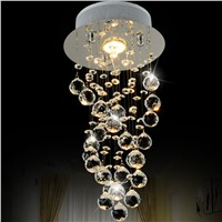 Elegant Lighting LED Crystal Chandelier Lighting With Clear Crystals For Kitchen Living Room Dinning Room Home Light Fixtures