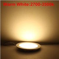 10pcs LED Ceiling Panel Light 3W 4W 6W 9W 12W 15W 25W High brightness LED Downlight with adapter AC/DC 12V 24V indoor Light