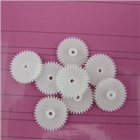 Factory wholesale (100pcs/lot) plastic single layer gear diy 362A motor gear remote control car single layer 36t2a gears