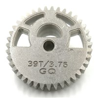 10PCS/LOT Alloy Gears Thickness 6MM Outside Diameter 30.7MM 39 Teeth 0.75 Modulus