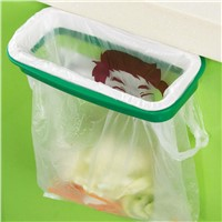 Useful Durable Kitchen Garbage Bags Plastic Storage Rack Hanging Bracketc