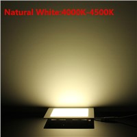 15W Ultra thin LED Panel Light Recessed LED Ceiling Downlight Warm White/Natural White/Cold White