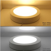 Super bright 25W LED Panel Light Down Light with driver 85-265V Warm White/White/Cold White Surface Mounted LED Ceiling Light