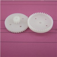 Hot sale (100pcs/lot) CROWN plastic gear double layer c30-10-2b gear c30102b cars toy