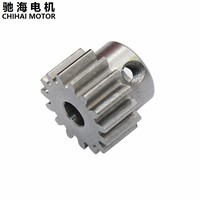 Chihai Motor High quality carbon steel, deceleration motor, DC motor, gear module 1, gear 15, tooth inner hole, 4-5-6mm