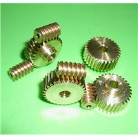 0.5M-40Teeths  worm rod gear 1:40 Remote control toys steering gear copper  worm gear combination