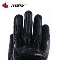 XUEYU Motorcycle Full Finger Gloves Motorbike Street Bike Motocross Racing Luvas Enduro Road Moto Riding Guantes Protective Gear