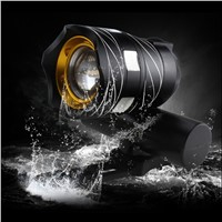2017 LED USB Rechargeable Bike Light Front Bicycle Head-lights Waterproof MTB Road Cycling Flash-light Touch Night Safe