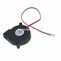 5pcs lot Brushless DC Turbine Cooling Cooler Blower Fan Exhaust Fans 50MM 50x15mm 5015S 5V