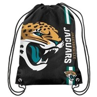Jacksonville Jaguars Polyester Men Drawstring Backpack Buggy Bag Custom Image Digital Printing Pouch 35*45CM Sports Fan Products
