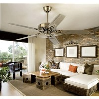 48inch 42inch Continental retro ceiling fan without a light iron leaf ceiling fan modern and simple iron fan