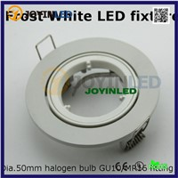 LED Ceiling lamp holder GU10/MR16 Lighting ceiling spot light fixture frame / mr16 spot lamp round fixtures aluminum white color