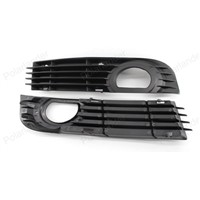 Auto Accessories Front Bumper Fog Lights Protective Grille Racing Grills For Audi A8 S8 QUATTRO D3 2006 2007 2008 1 Set