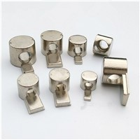 Self-allgning Double Anchor Fastener for Aluminum Profile 20/30/40/45 series, T Slot Interior Joint for slot 6mm/8mm/10mm