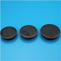 Plastic wire hole cover your desktop threading box threading box computer desk thread hole diameter 50mm