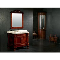 Solid wood bathroom furniture vanities cabinet 0281-8061