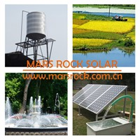 4inch 7500W AC380V and DC530V Brushless high-speed solar water pump with 10 T/h flow and 150m head