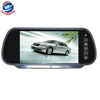 New Free Shippinrg Dropshipping Wholesale 7 inch Color TFT LCD Car Rearview Monitor Car Rearview Mirror Factory Selling