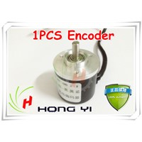 Top ! 1pcs Encoder 400P/R Incremental optical rotary encoder 400p/r AB phase encoder 6mm Shaft for CNC