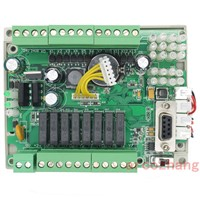 FX1S GX1S 20MR 12in 8 relays out RTC (real time clock)  controller 2AD 2DA high-brightness LED digital tube display