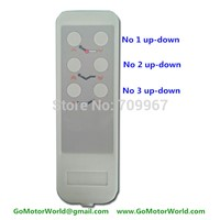 New Control box control system 110-240V AC input 12 or 24V DC output with wire handset for homecare bed electric bed