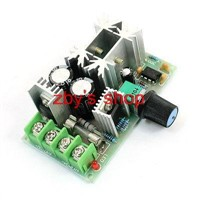 Rotary Potentiometer PWM Motor Blower Motor Speed Controller DC 10-60V 20A 1200W