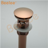 Oil Rubbed Bronze Pop Up Drain Bathroom Basin Antique Copper Pop Up Drain with overflow