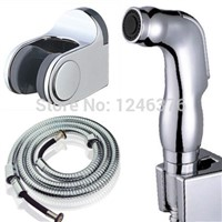 New Hand-held Toilet Spray Nozzle Sprinkler Shower Head Heads Bidet Set for Bath