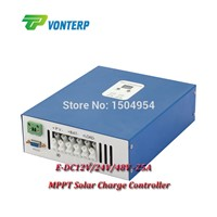 25A MPPT  Solar Charge Controller  12V 24V 48V Solar Panel Battery Charger Solar Regulator