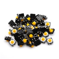 100PCS Tactile Push Button Switch Momentary 12*12*7.3MM Micro switch button