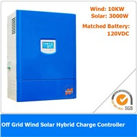13KW 120VDC Off Grid Wind Solar Hybrid Charge Controller, 10KW Wind Power, 3KW Solar Power
