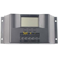 48V 20A Solar System Charge Controller, Automatic Identification, PWM Charge Controller for Solar System with LED Display