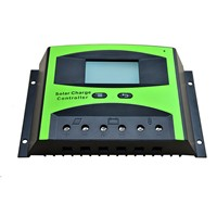 60A 12V 24V LD2460C PWM Solar cell panel battery Charge Controller Regulators LCD Display