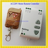 AC 220V Motor Remote Controller Motor Up Down Stop Remote Switch Motor Forward Reversing RF Wireless Switch ASK Smart Home315433