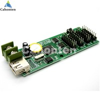 XY-UA USB Port full color LED control card U-disk asynchronous led controller with 4*hub75b port for display sign