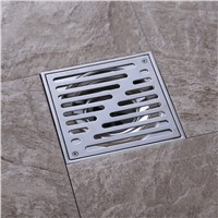 Wholesale 150*150MM square Shower Bathroom Stainless Steel Floor Drain