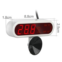 Aquarium Underwater Temperature Fish Tank  LED Digital Termometro Water Temperature Meter Dedicated Diving