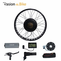 "PASION E BIKE 48V 1500W Electric Bicycle Fat Bikes Conversion Kit 20'' 26"" Wheel Motor For 190mm Hub Motor"