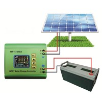 MPPT 10A Solar Charge Controller Solar Panel DC-DC Step-Up Power Accommodate 24V 36V 48V 72V Battery 50%off