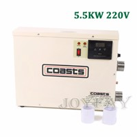 5.5KW 220V Electric Water Heater Swimming Pool & SPA Home Bath Hot Tub Thermostat