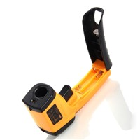 Digital GM320 Laser LCD Display Non-Contact IR Infrared Thermometer -50 to 380 C Auto Temperature Meter Sensor Gun Point