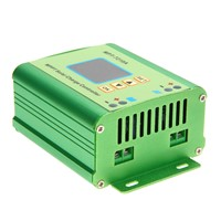 LCD MPPT 7210A Solar Charge Controller Regulator DC-DC Boost Voltage Ammeter Battery Charger FULI