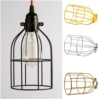 Lighting Metal Guard for String Light Vintage Lamp Holder Wire Iron Cage