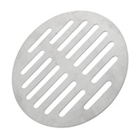 Useful Home Bathroom Supplies Silver Tone Round Stainless Steel Floor Drain Cover